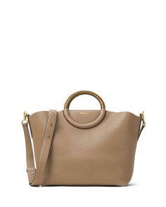 Michael Kors Skorpios Leather Market Bag afb0ad3b09d