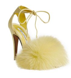 """15a72448b0ef My MELLY sandal in a delicate hue of daffodil. Perfect footwear for Paris  Couture....  highheels  yellow  limitededition…"""""""