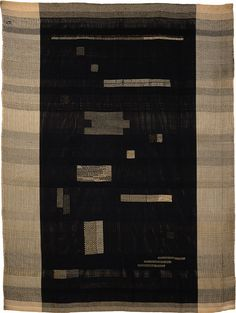 Anni Albers Ancient Writing, 1936 59 × in. × cm) rayon, linen, cotton and jute Smithsonian American Art Museum Josef and Anni Albers Foundation Anni Albers, Josef Albers, Textile Fiber Art, Textile Artists, Fibre Art, Word Art, Bauhaus Textiles, Textiles Sketchbook, Art Du Fil
