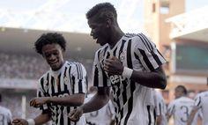 ¡La Juventus bailó al ritmo de Cuadrado! - De la mano de Pogba, Juventus ganó sin complicaciones por 2-0 ante Genoa y aseguró su primera victoria en la Serie A después de 4 fechas.  l fran...