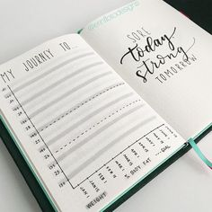 25+ Incredibly Helpful Bullet Journal Layouts To Plan & Track Your Life in 2018 - Making Midlife Matter