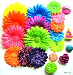 Neon Necessities! The possibilities are endless with Poplers, Interchangeable magnetic accessories from Poplers.com