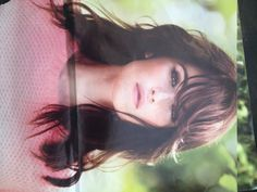 Gemma Arterton's perfect layers and bangs. My next hair cut. #InStylemagazine #brunettes