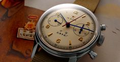 SEAGULL 1963 Air Force Chronograph (re-issue)