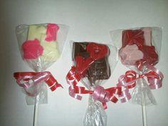 Love & kiss lollipops