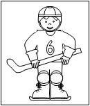 hockey theme on makinglearningfun.com  includes ice cube hockey player!
