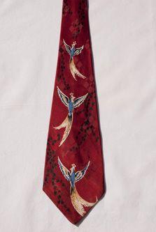 Crew Cuts Boys Christmas Reindeer Necktie One Size Neck Tie Red