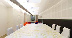Sala de reuniões nos escritórios da Valtech em Paris, França