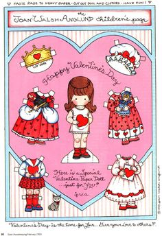 Joan Walsh Anglund_Valentine Paper Doll 3