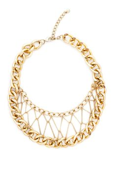 Buddy System Double Chain Necklace