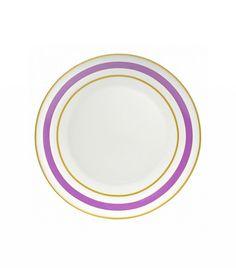 10 Strawberry Street Pirouette Porcelain Dinner Plates