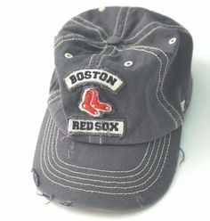 BOSTON RED SOX Youth Baseball Hat Cap  Fenway Park Collection Distressed Look #FenwayCollection #BostonRedSox