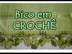 Aprenda a fazer Bico em Crochê com a artesã Diane Gonçalves - YouTube