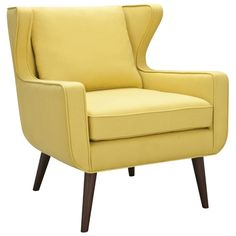 Danish Wing Chair Scooter Highlighter to go with the Brooklyn Couch New Living Room, Home And Living, Living Area, Freedom Furniture, Fabric Armchairs, Ottomans, Wing Chair, Take A Seat, Occasional Chairs