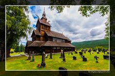 Local church in Uvdal of Buskerud county, Norway.  By Tor Magnus Anfinsen, via Flickr