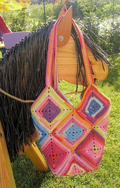 Great Crochet Bag: free pattern