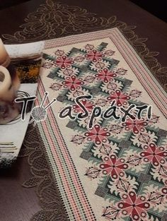 Palestinian Embroidery, Hand Embroidery, Bohemian Rug, Cross Stitch, Rugs, Home Decor, Farmhouse Rugs, Log Projects, Cross Stitch Samplers