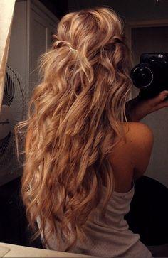 this hair<3 loose curl perm