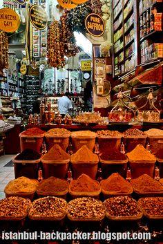 Istanbul Spice Bazaar, Turkey