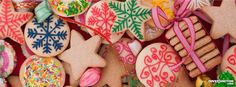 Christmas cookies Facebook Cover