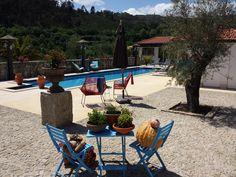 Kom tot rust aan het zwembad Glamping Portugal