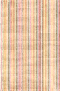 Watercolor Stripe Woven Cotton Our latest woven cotton area rug gets a punch of vivid hues in tangerine, pink, and blue alternating with neutral stripes. Come on, get happy! Fabric Design, Pattern Design, Discount Area Rugs, 4x6 Rugs, Cottages By The Sea, Dash And Albert, Rug Company, Polypropylene Rugs, Big Girl Rooms