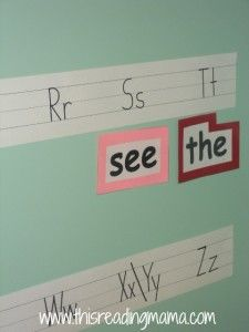 Reading the Alphabet~ Letter P/ Sight Word SEE {Lesson 3}   This Reading Mama