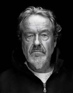 """Ridley Scott  """"Life isn't black and white. It's a million gray areas, don't you find?"""""""