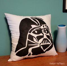 Darth Vader Pillow, view 1 by punkinpatterns, via Flickr
