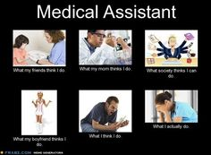 My life as a Medical Assistant - Bahahahahahahahaha yup life as a medial assistant