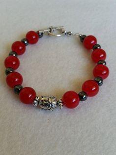 Buddha Bracelet, red