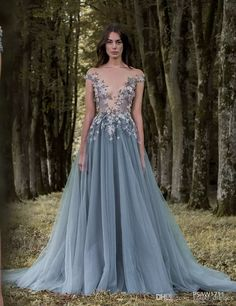 Prepare the lace long dress for the upcoming prom? Then you need to see 2016 paolo sebastian lace prom dresses sheer plunging neckline appliqued party gowns cheap sweep train tulle beads evening wear for women in youxi_dresses and other lavender prom dresses and light pink prom dresses on DHgate.com.
