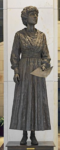 Jeannette Rankin: In 1916, Rankin became the first woman elected to the U.S. House of Representatives.