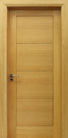 Milan White Oak Door (40mm) | Internal Doors | Oak Doors