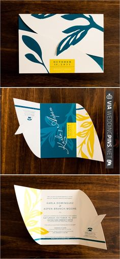 tropical blue wedding invite | CHECK OUT MORE IDEAS AT WEDDINGPINS.NET | #weddings #weddinginspiration #inspirational