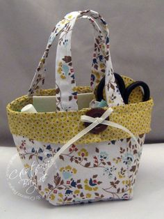 Stampin' Up! Fabric tote