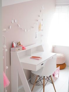 Add the modern decor touch to your home interior design project! This Scandinavian home decor might just be what your home decor ideas is needing right now! Girls Bedroom, Bedroom Decor, Wall Decor, Baby Kind, Little Girl Rooms, New Room, Home Interior Design, Room Inspiration, Home Furniture