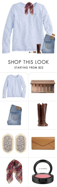 """""""Hello Gorgeous!"""" by classynsouthern ❤ liked on Polyvore featuring Urban Decay, Hollister Co., Tory Burch, Kendra Scott, Vera Bradley, Humble Chic and MAC Cosmetics"""