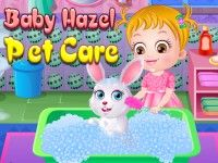 Wow! Baby Hazel is very happy as she enjoys pampering and playing with her newly fond pet bunny. Play Baby Hazel Pet Care game on topbabygames.com at http://www.topbabygames.com/baby-hazel-pet-care.html