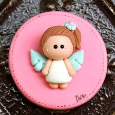 Angel Baptism First Communion Party Favor Refrigerator por gavo, $10.00