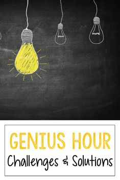 Genius Hour in the Classroom: Challenges & Solutions - The Third Wheel Teacher Teaching 5th Grade, Teaching Schools, Teaching Tips, Classroom Crafts, Classroom Activities, Classroom Ideas, Classroom Board, Classroom Behavior, Classroom Inspiration