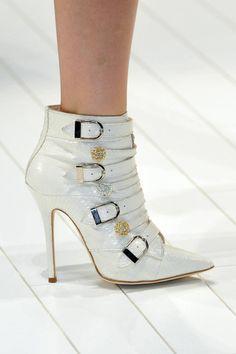 Roberto Cavalli shoes Spring 2014 | Blumarine Spring 2014 Milan Fashion Show | R-A-W SHOES BLOG