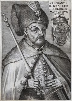 Stephen Báthory by Anonymous, 1576-1580 (PD-art/old), Stadtbibliothek Trier