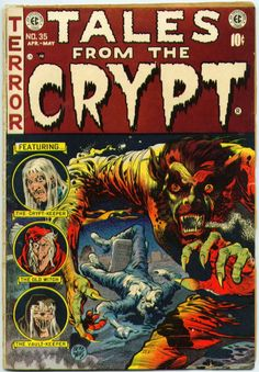 Tales from the Crypt 35 EC comics golden age