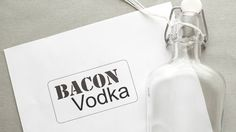 Bacon lover? If so, try your hand at some Bacon Infused Vodka! THANK YOU BETTY!!!!!