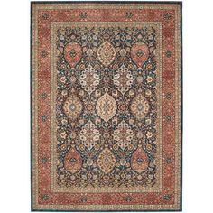 Spice Market Narmada Sapphire Rectangular: 8 Ft. x 11 Ft. Rug - (In No Image Available)