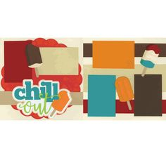 Chill Out Page Kit