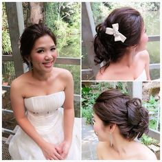 Another hairdo, casual updo ❤✨