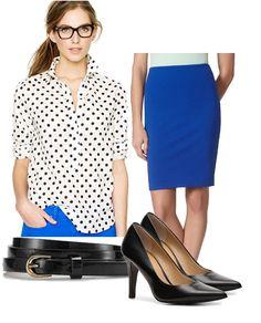 Wear To Work Polka Dots
