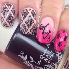 Lace and Lacquers: BORN PRETTY STORE: Stamping Review - BP-L016, BP-L019, la Qin An Stamping Polish, & Stamping Set